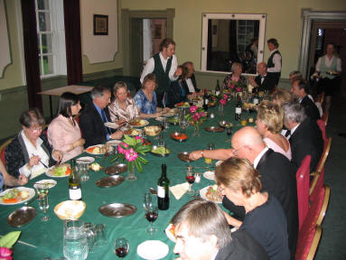 The meeting of the Friends for an annual dinner in 2004